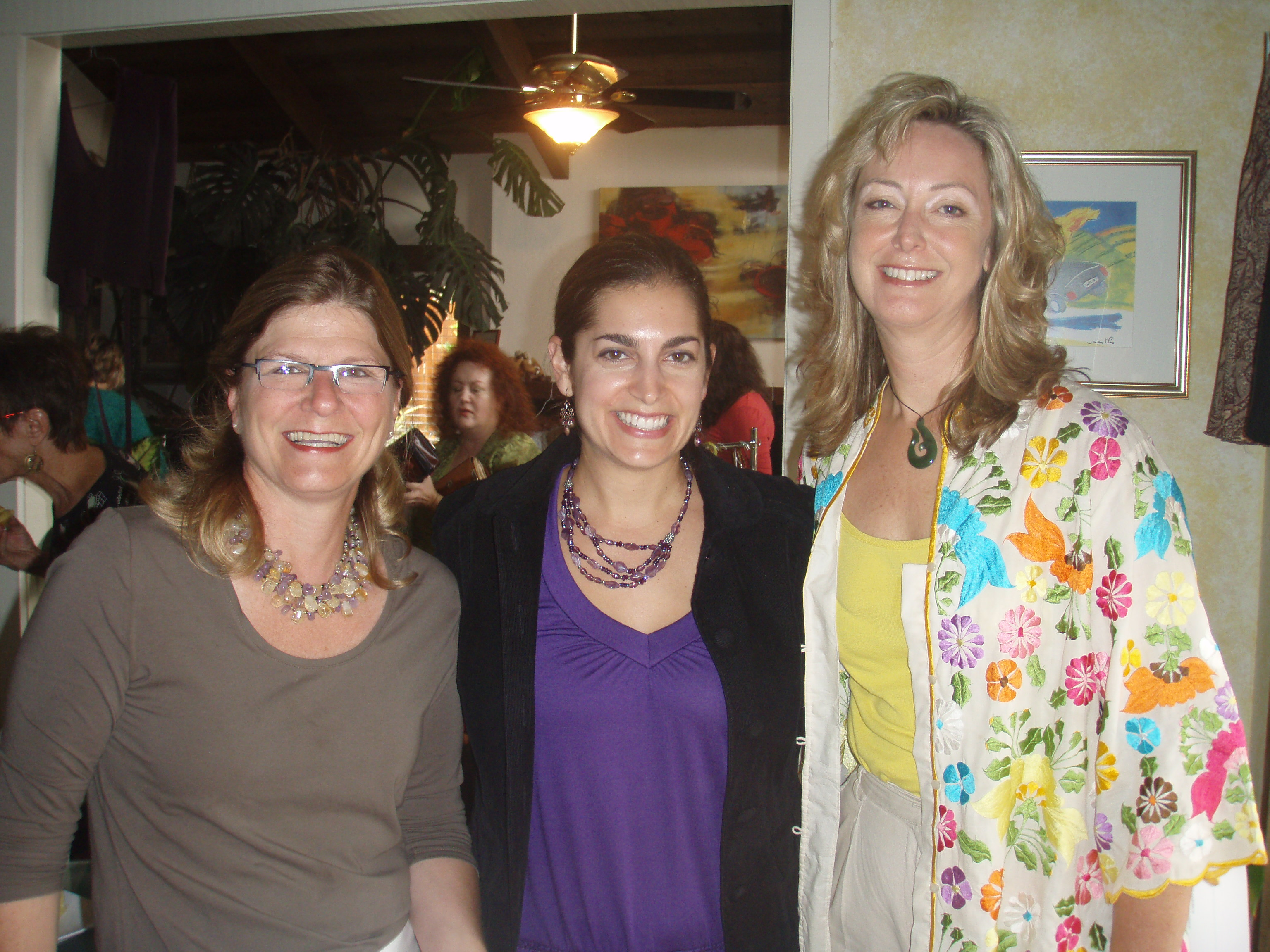 Deirdre Sheerin, Executive Director of Image for Success, ABC Producer Janel Andronico, and moi