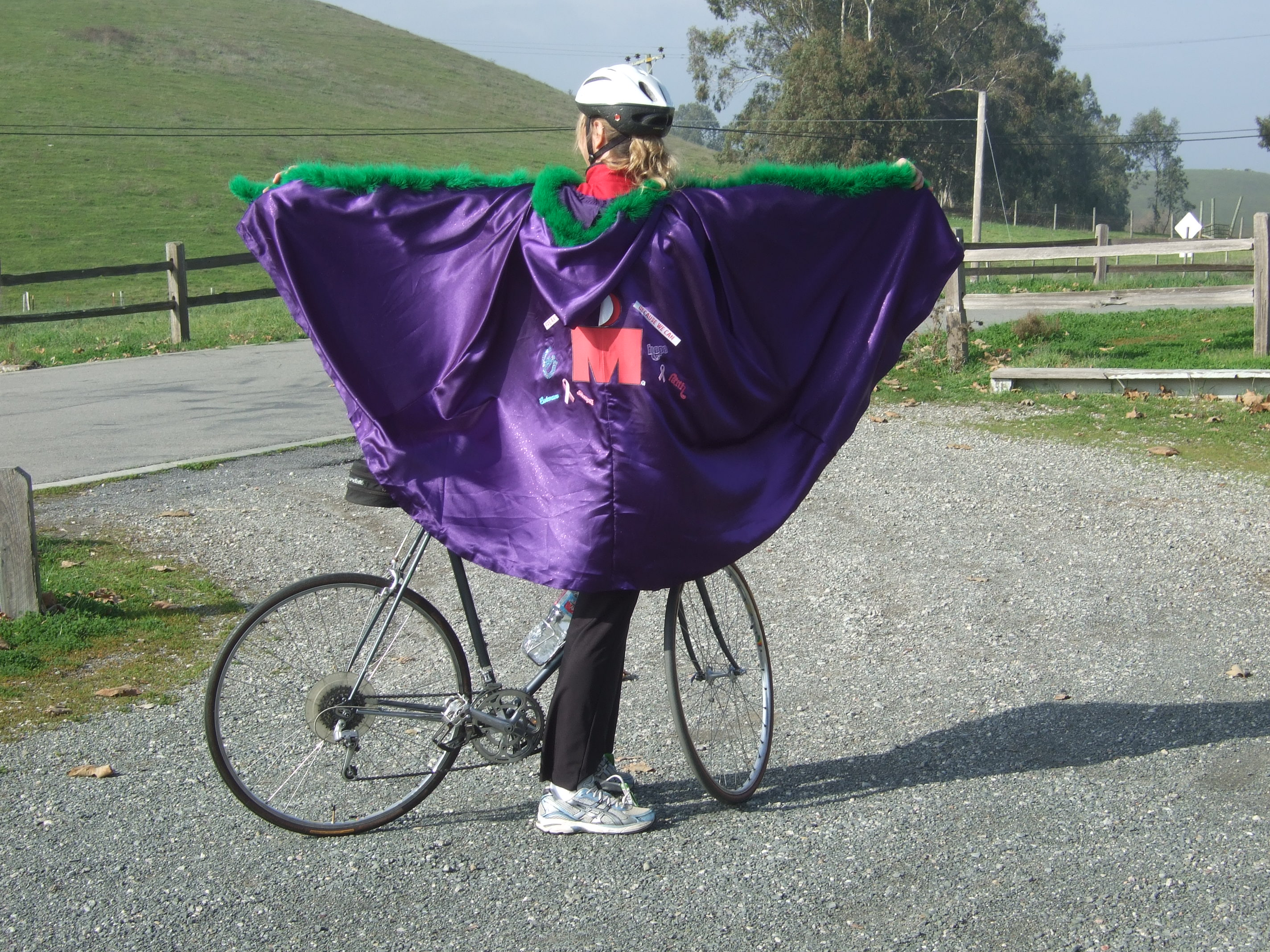 the spirit cape out in the Petaluma countryside.