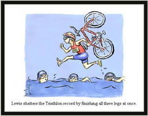 triathlon-cartoon-swim-bike-run-broken-ironman-record