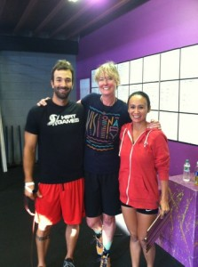 me visiting Crossfit Pohaku on the Big Island of Hawaii